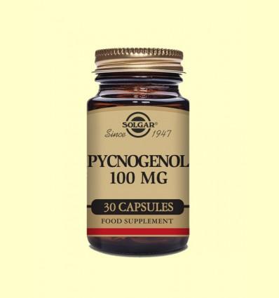 Pino 100 mg - Extracto de corteza Pycnogenol Solgar - 30 cápsulas