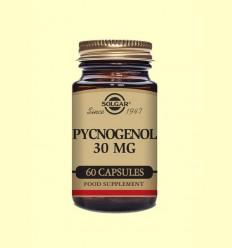 Pino 30 mg - Extracto de corteza Solgar Pycnogenol - 60 cápsulas