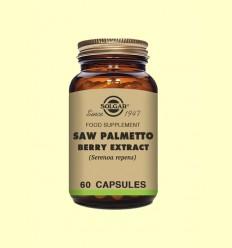 Sabal Extracto de Baya - Solgar - 60 cápsulas vegetales