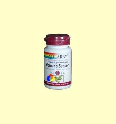 Woman's Support - Solaray - 30 cápsulas