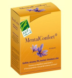 Mental Confort - 100% Natural - 60 cápsulas