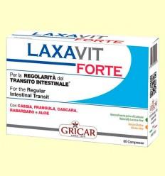 Laxavit Forte - Regulador intestinal - Gricar - 60 comprimidos