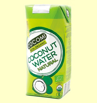 Agua de Coco Natural Bio - Cocomi - Brick 330ml