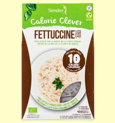 Pasta Konjac Fettucine Bio - Slendier - 400 gramos