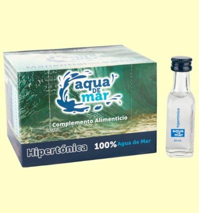 Agua de Mar Hipertónica - Aqua de Mar - Pack 30 x 20 ml