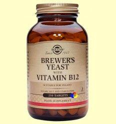 Levadura de cerveza - Solgar - 250 comprimidos