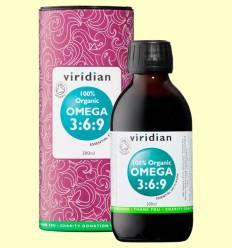Aceite Omega 3:6:9 - Viridian - 200 ml