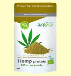 Proteína de Cañamo en Polvo Bio - Biotona - 300 gramos