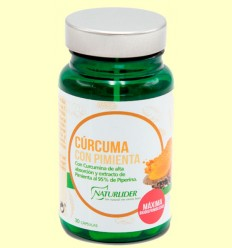 Cúrcuma con Pimienta - Naturlider - 30 cápsulas