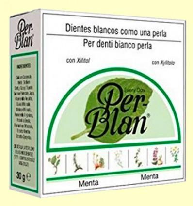 Dentífrico en Polvo Menta - Perblan - 30 gramos
