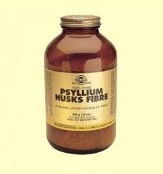 Fibra de cascaras de Psyllium 280 g - Fibra - Solgar - 280 gramos