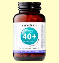 Synerbio 40+ - Viridian - 60 Cápsulas