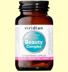Beauty Complex - Pelo Piel y Uñas - Viridian - 30 Cápsulas