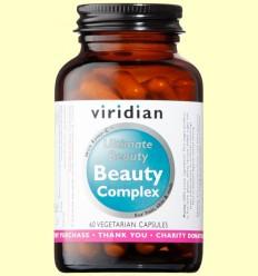 Beauty Complex - Pelo Piel y Uñas - Viridian - 60 Cápsulas