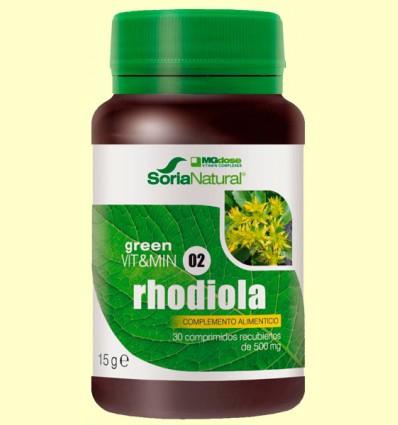 Rhodiola - Green Vit&Min 02 - MGdose - 30 comprimidos
