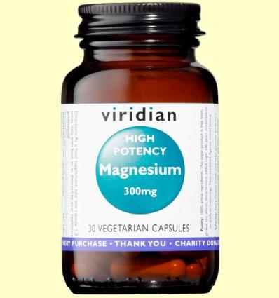 Magnesio de Alta Potencia - Viridian - 30 Cápsulas