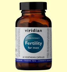 Fertility para Hombres - Viridian - 60 Cápsulas