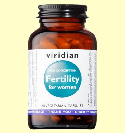 Fertility para Mujeres - Viridian - 60 Cápsulas