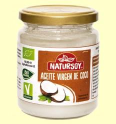 Aceite de Coco Virgen Bio - Natursoy - 400 gramos
