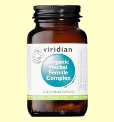Complex Herbario Mujer Bio - Viridian - 30 Cápsulas