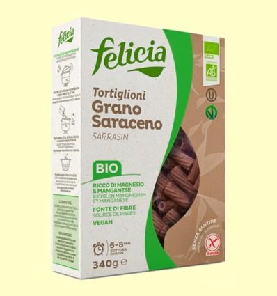 Tortiglioni de Trigo Sarraceno Bio - Felicia - 340 gramos