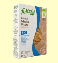 Penne de Maíz y Arroz Bio - Felicia - 250 gramos