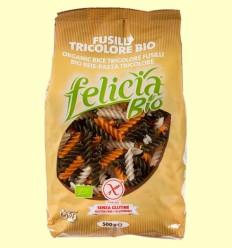 Fusilli Tricolore Bio - Felicia - 500 gramos