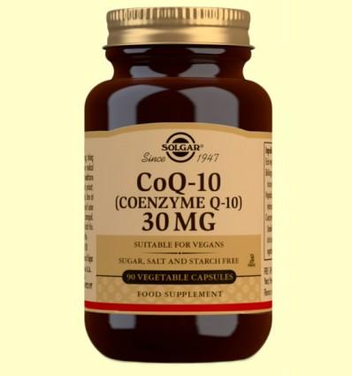 Coenzima Q-10 30 mg - Solgar - 90 cápusulas vegetales