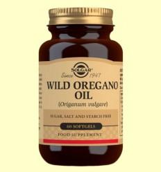 Aceite de Orégano Silvestre (Origanum Vulgare) - Solgar - 60 cápsulas blandas