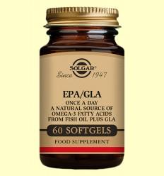EPA/GLA Una al Día - Solgar - 60 cápsulas blandas