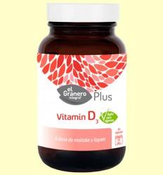 Vitamina D3 - El Granero - 60 cápsulas *