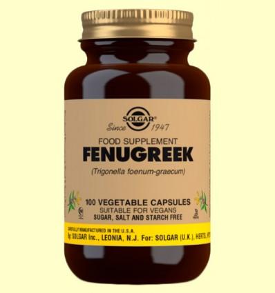 Fenogreco - Solgar - 100 cápsulas vegetales