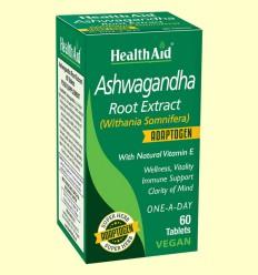 Ashwagandha (Withania Somnifera) - Health Aid - 60 Comprimidos