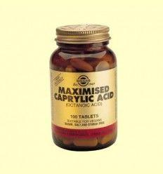 Ácido Caprílico Maximizado - Solgar - 100 comprimidos *