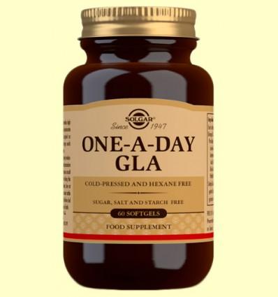 GLA Una al Día - Solgar - 60 cápsulas blandas