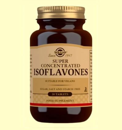 Súper Concentrado de Soja - Solgar - 30 comprimidos