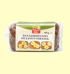 Pan Germinado de Lino y Girasol Bio - La Finestra Sul Cielo - 400 Gramos
