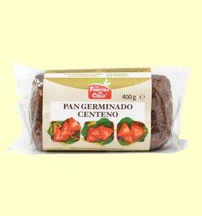 Pan Germinado Centeno Bio - La Finestra Sul Cielo - 400 Gramos