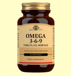 Omega 3 6 9 - Solgar - 60 cápsulas vegetales