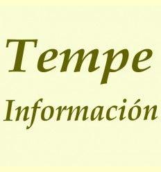 Información del Tempe.