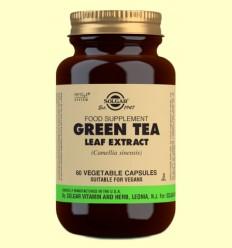 Té Verde Extracto de Hoja - Solgar - 60 cápsulas vegetales