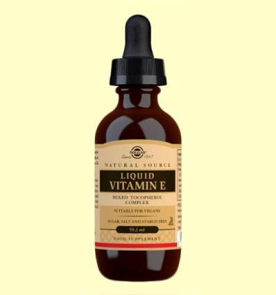 Vitamina E Líquida - Solgar - 59,2 ml