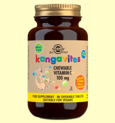 Kangavites - Vitamina C 100 mg - Solgar - 90 comprimidos