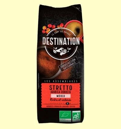 Café Stretto Italiano Molido Bio - Destination - 250 gramos