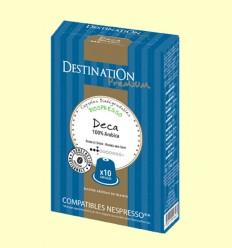 Cápsulas de Café Expreso Descafeinado Suave Bio - Destination - 55 gramos