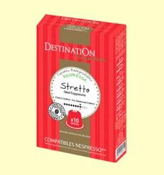 Cápsulas de Café Expreso Stretto Bio - Destination - 55 gramos
