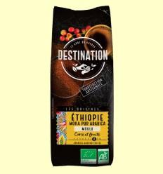 Café Molido Etiopía Moka 100% Arábica Bio - Destination - 250 gramos