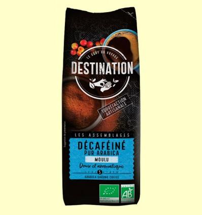 Café Molido Descafeinado Suave 100% Arábica Bio - Destination - 250 gramos