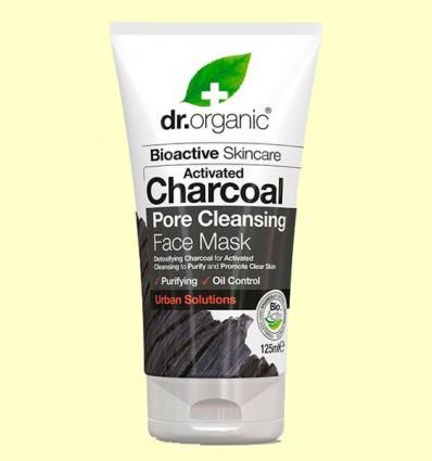 Mascarilla de Carbón - Dr.Organic - 125 ml