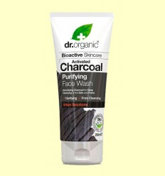Limpiador Facial de Carbón - Dr.Organic - 200 ml